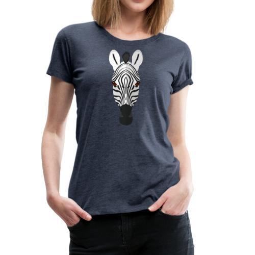 Zebra - Vrouwen Premium T-shirt