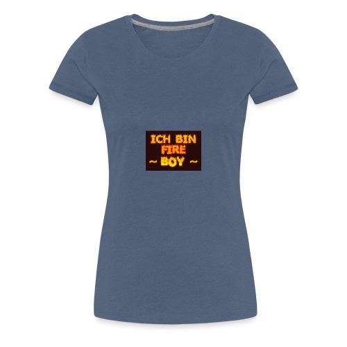 Fire Boy - Frauen Premium T-Shirt