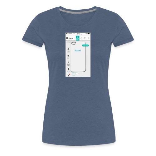 Squad iPhone case - Women's Premium T-Shirt