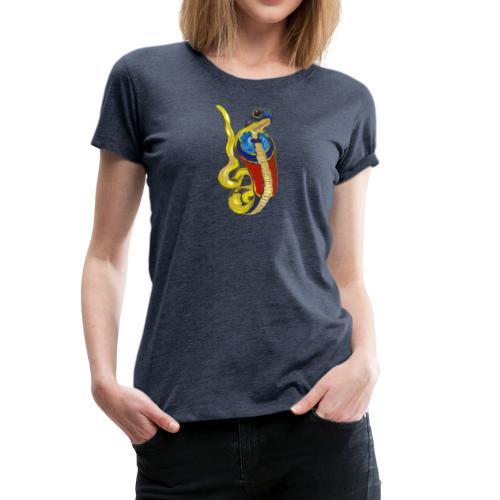 Altägyptische Göttin Wadjet - Frauen Premium T-Shirt