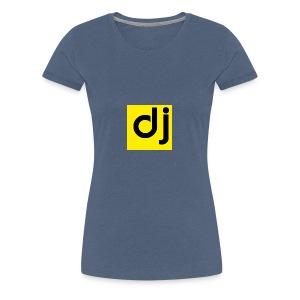 DJ - Premium T-skjorte for kvinner