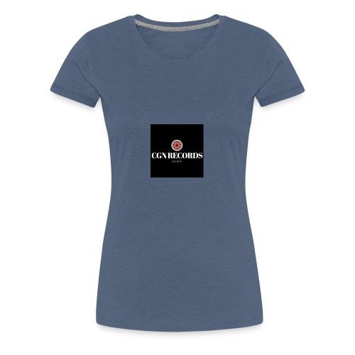 CGN Records Logo - Frauen Premium T-Shirt