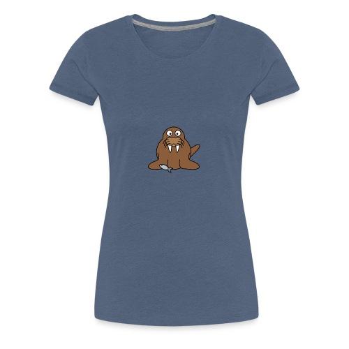 Walross2 - Frauen Premium T-Shirt