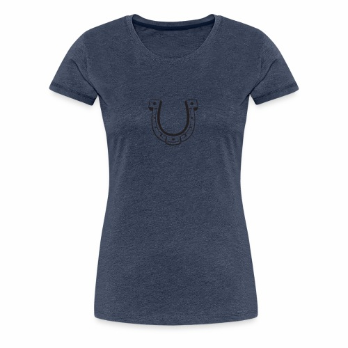 fer à cheval - T-shirt Premium Femme