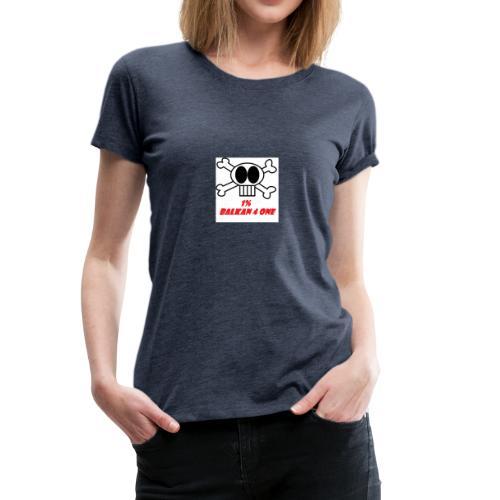 Skull Balkan - Frauen Premium T-Shirt