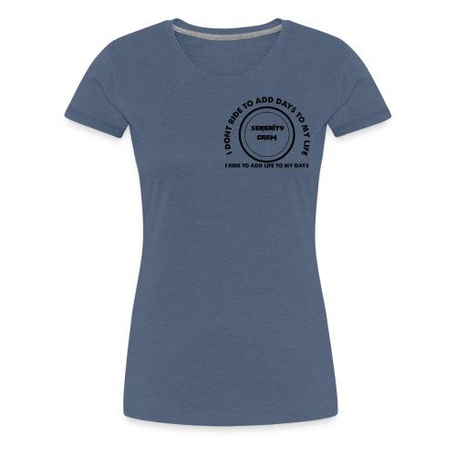 Serenity Crew Rider Quote - Women's Premium T-Shirt