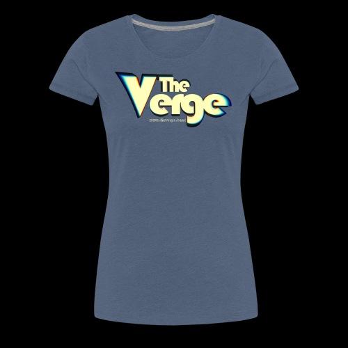 The Verge Vin - T-shirt Premium Femme