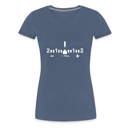 Exposímetro Fotografía - Camiseta premium mujer