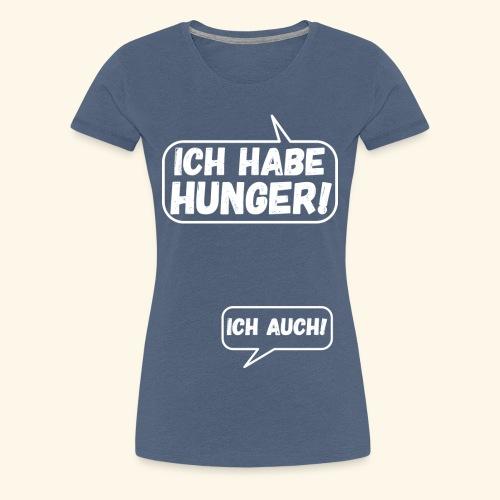 Lustiges Schwangerschaftsshirt für werdende Mamas - Frauen Premium T-Shirt