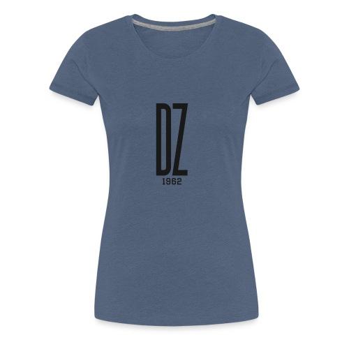 Logo transparent noir DZ 1962 - T-shirt Premium Femme