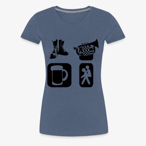 Way of Life - Frauen Premium T-Shirt