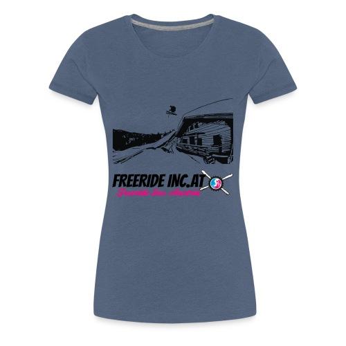 Hütten Ralley Logo groß - Frauen Premium T-Shirt