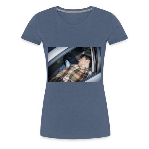 Schlafender Schneider - Frauen Premium T-Shirt
