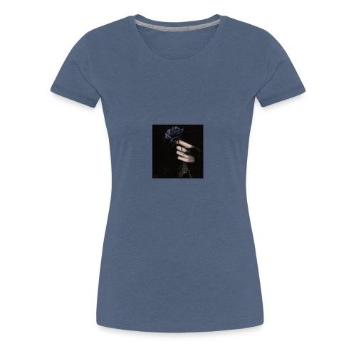 Rosa Negra - Camiseta premium mujer
