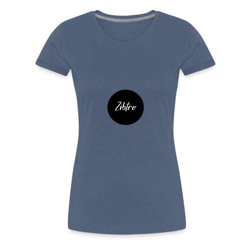 Zibtro zwart - Vrouwen Premium T-shirt