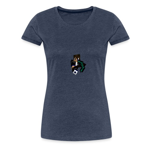 Pils10-Minecraft Style - Frauen Premium T-Shirt