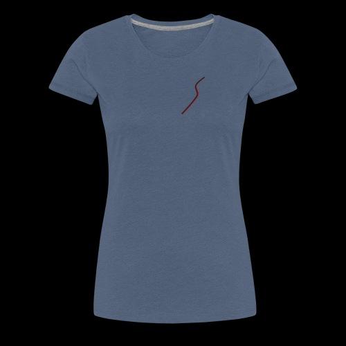 logo Style red - T-shirt Premium Femme