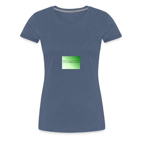 Haekeln Haken - Frauen Premium T-Shirt
