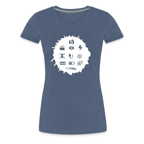 Logotipos Fotografía - Camiseta premium mujer