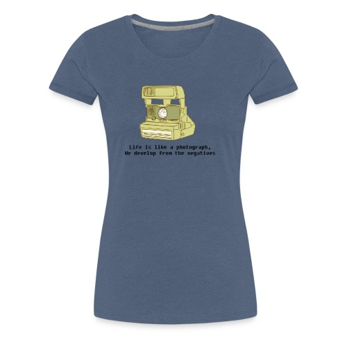 Photographic Lives - Women's Premium T-Shirt