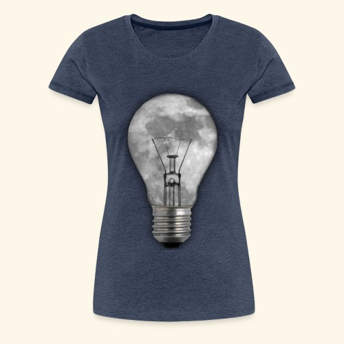 moon bulb - Camiseta premium mujer