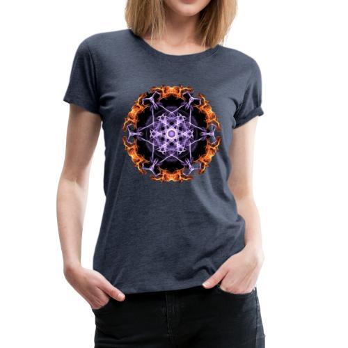 Fire Circle Geschenk Idee - Frauen Premium T-Shirt
