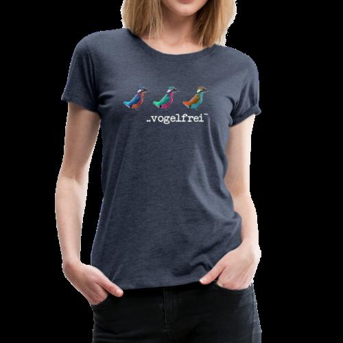 geweihbaer Vogelfrei - Frauen Premium T-Shirt
