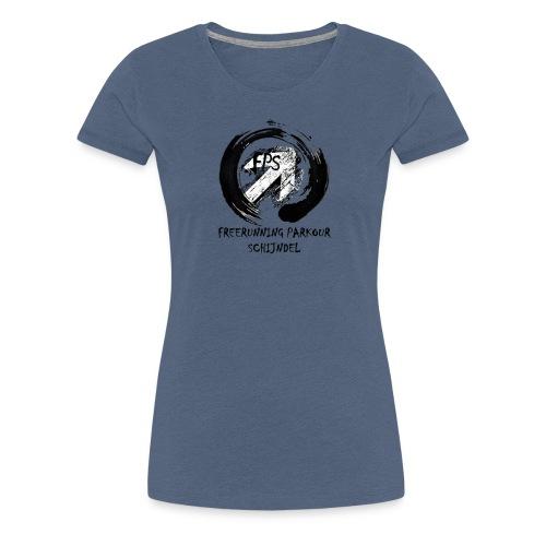 Freerunning Parkour Schijndel Logo - Vrouwen Premium T-shirt