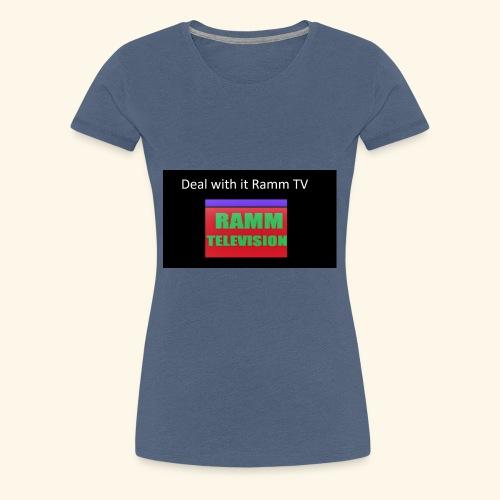 Deal it with Ramm TV - Frauen Premium T-Shirt
