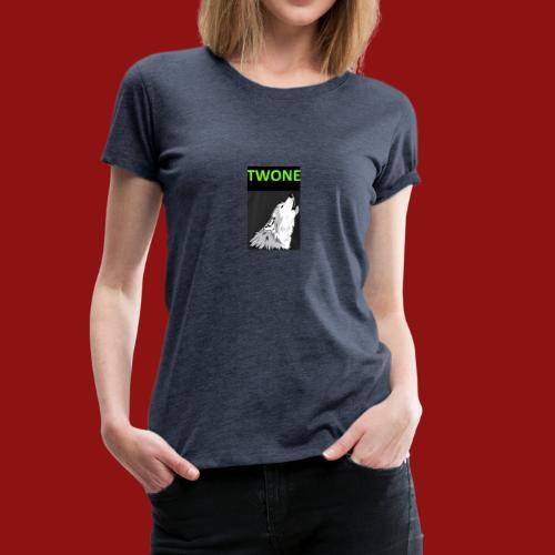 Offizielles Logo von der Band Twone - Frauen Premium T-Shirt