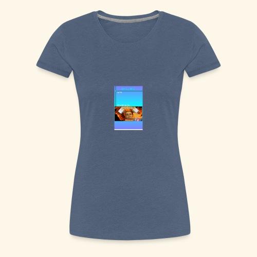 chilling with frileedake1 - Women's Premium T-Shirt