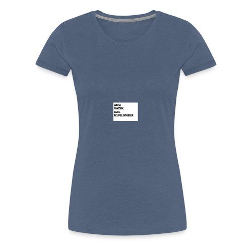 Teufelsdreier - Frauen Premium T-Shirt