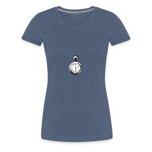 johnny_automatic_pocket_watch - Koszulka damska Premium