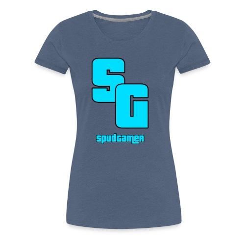 SpudGamer Logo - Women's Premium T-Shirt