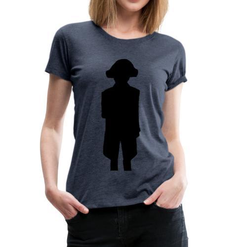 Ombre Napoléon Bonaparte - T-shirt Premium Femme