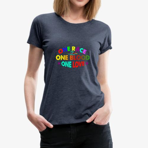 One Love reggae - Women's Premium T-Shirt