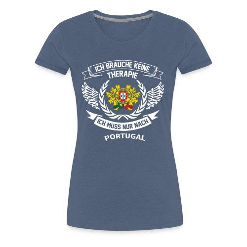 Portugal T-Shirt Urlaub - Frauen Premium T-Shirt