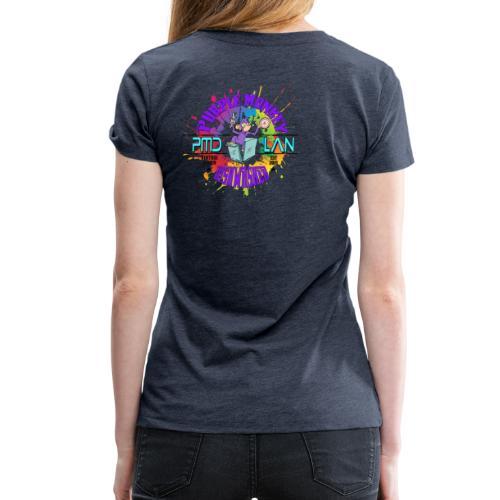 PMD Colour Burst - Women's Premium T-Shirt