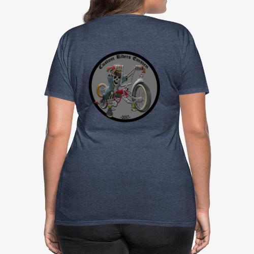 Custom Riders Emmen - Vrouwen Premium T-shirt