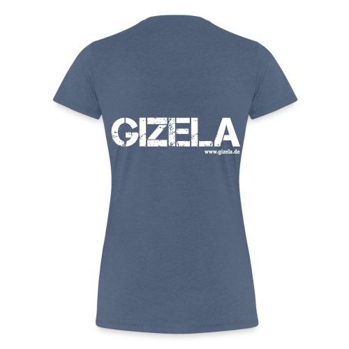 GIZELA white - Frauen Premium T-Shirt