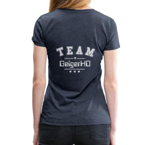 TEAM GeigerHD - Frauen Premium T-Shirt