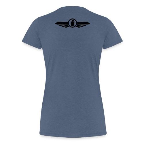 Goonfleet wings logo - Frauen Premium T-Shirt