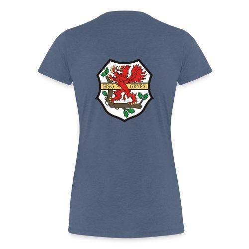 HSG Logo Rücken groß - Frauen Premium T-Shirt