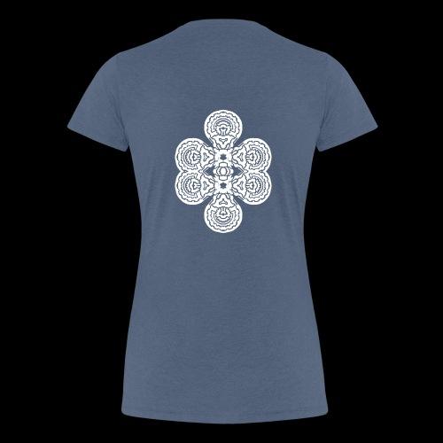 TAROT 4 BLANC - T-shirt Premium Femme