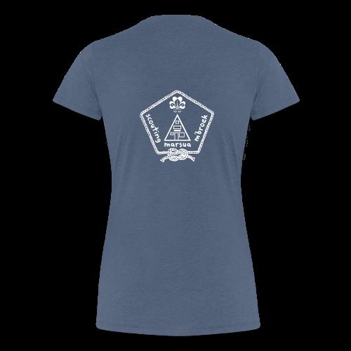 Marsua Wit - Vrouwen Premium T-shirt