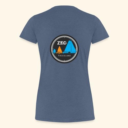 ZKGFriesland - Vrouwen Premium T-shirt