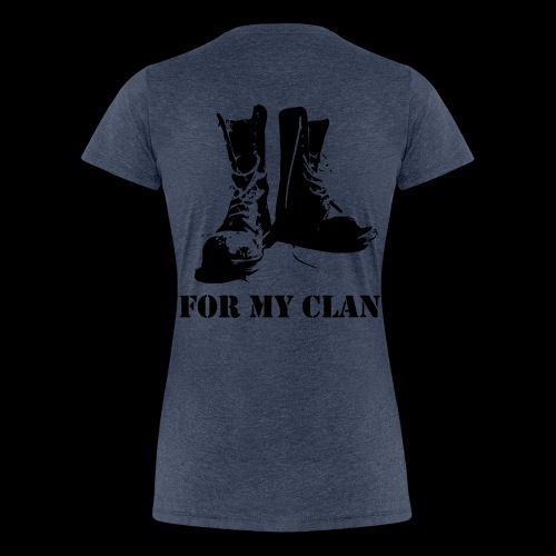 For my Clan - Frauen Premium T-Shirt
