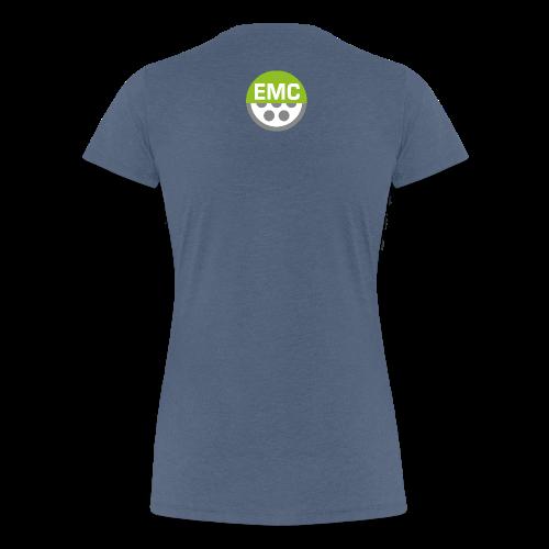 ElektroMobilitätsClub Icon - Frauen Premium T-Shirt