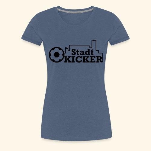 Wartburg Stadt Kicker - Frauen Premium T-Shirt
