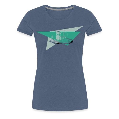 Schneeberg Fichtelshirt im Fichtelgebirge - Frauen Premium T-Shirt